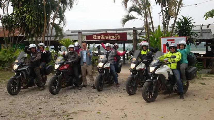 moto trip thailande